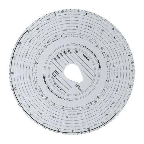 Tachokrúžky Kienzle 180-24 4B 100 ks  4494