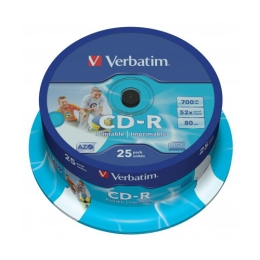 CD-R Verbatim 43432 DataLife Plus, 52x, 700 MB/80 MIN, 25-pack