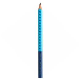 Grafitová ceruzka Grip Jumbo / B modrá/bledo modrá