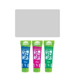 Akrylová farba JUNIOR 120 ml strieborná 810
