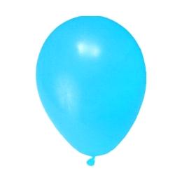 Balón M 25 cm, svetlomodré /100 ks/