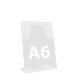 """Stojan na dokumenty """"L"""", naklonený, A6 105x148 mm"""