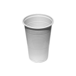 Pohár biely 0,2 l, 15 ks
