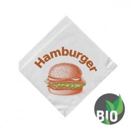 Vrecká na hamburger 16 x 16 cm (500 ks)