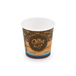 "Pohár papierový "" Coffee to go"" 110ml XS (50KS)"