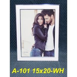 Fotorámček 15x20 cm, A-101 WH