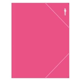 Zakladacia mapa s gumičkou PP/A4, ružový