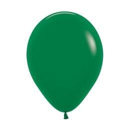 Balón Solid 28 cm, tmavo zelený /100ks/