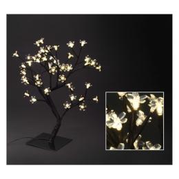 Stromček - svietiaci 48 LED teplá biela, 45 cm