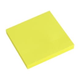 Blok lep. NEON 76 x 76 mm  žltý