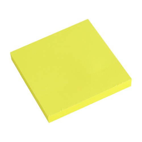 Blok lep. NEON 76 x 76 mm - žltý