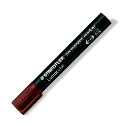"""Permanentný popisovač, 2 mm, kuželový hrot, STAEDTLER """"Lumocolor 352"""", hnedý"""