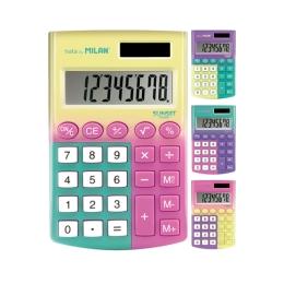 Kalkulačka MILAN vrecková 8-miestna Sunset