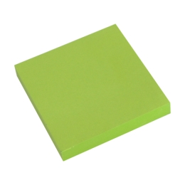 Blok lep. NEON 76 x 76 mm zelený