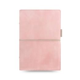 Diár Filofax Domino Soft - pastelovo ružový, osobný