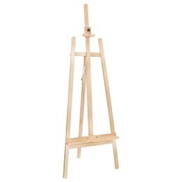 Stojan maliarsky 62x178 cm - drevený, veľký