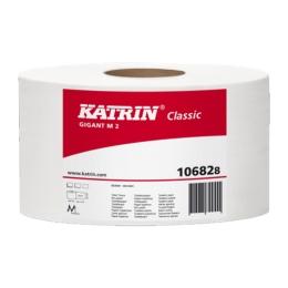 Toaletný papier Katrin Classic Gigant, 2-vrstvý/23 cm, 6 ks/bal