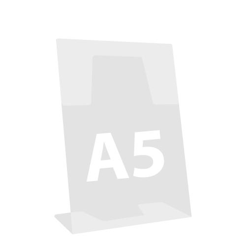 """Stojan na dokumenty """"L"""", naklonený, A5 148x210 mm"""