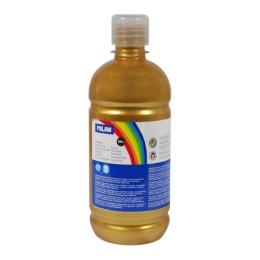 Bottle of 500ml gold poster colour