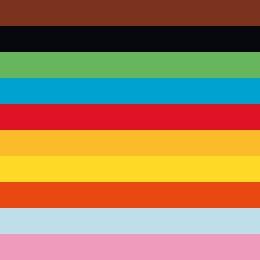 Zložka farebného papiera A4 20 listov 80 g