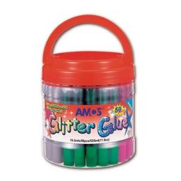 Lepidlo trblietavé AMOS, 10,5 ml mix farieb