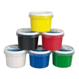 Farby prstové MILAN 100 ml - biela
