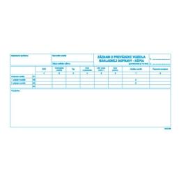 Záznam o prev. vozidla nákl. dopr. 2/3 A4 - kópia (058)