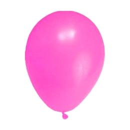 Balón M 25 cm, ružový /100 ks/