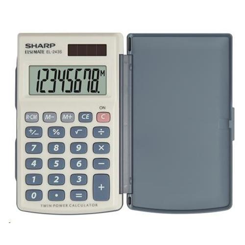 Kalkulačka vrecková SHARP SH-EL243S