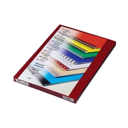 Fólia na prednú stranu Prestige A4 200 µm červená