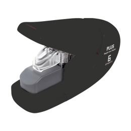 Zošívačka PLUS Paper Clinch mini 106AB (na 6 listov), čierna