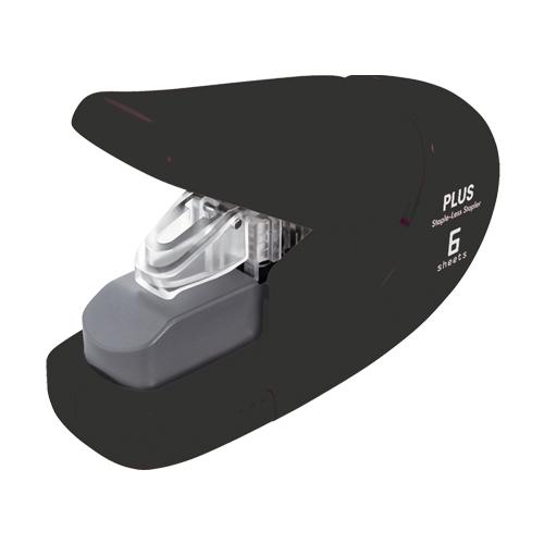 Zošívačka PLUS Paper Clinch mini SL-106AB (na 6 listov), čierna