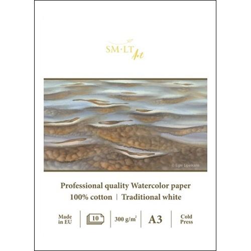 SMLT Skicár na akvarel - profesionálny A3, 300g, 10 l