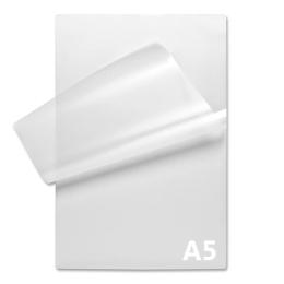Laminovacie fólie - lesklé, A5: 154 x 216 mm, 125 µm