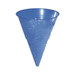 Pohár BLUE CONE 115 ml -PP- 1000 ks