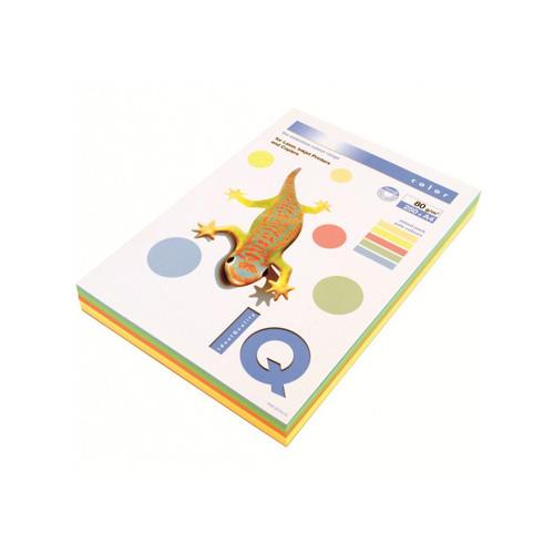 Kopírovací papier A4 IQ 160g 5x50 color pastel mix