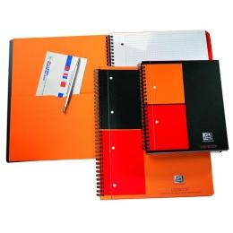 Zošit špirálový A4+Oxford INT Activebook štvorčekový 80 listov