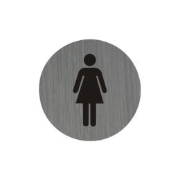 Piktogram 7,5 cm - WC Dámy