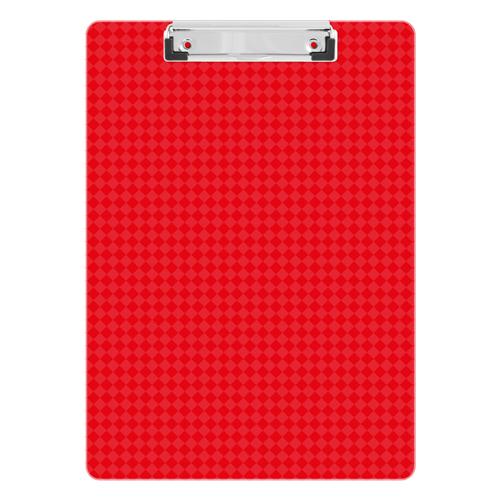 Podložka na písanie s klipom PS/A4, červená