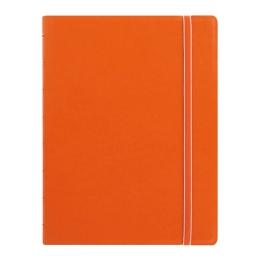 Poznámkový blok Filofax A5, oranžový