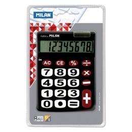 Kalkulačka MILAN 8-miestna 151708 čierna