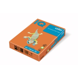 Kopírovací papier A4 IQ 80g color oranžový
