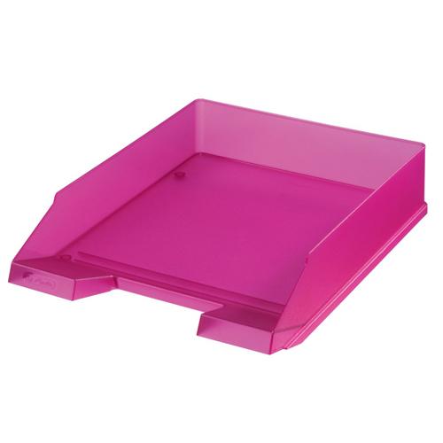 Zásuvka odkladacia - Classic ružová - transparent.