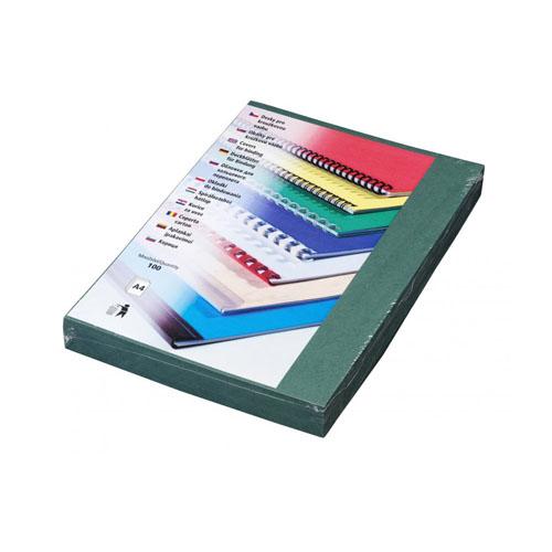 Kartónové dosky DELTA A4 zelené