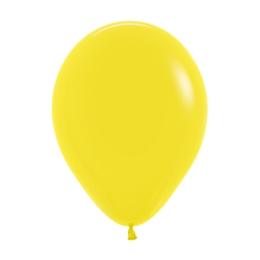 Balón Solid 28 cm, žltý /100ks/