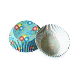 Cukr. košíčky balóniky priemer 50 mm, výška 30 mm /40ks/