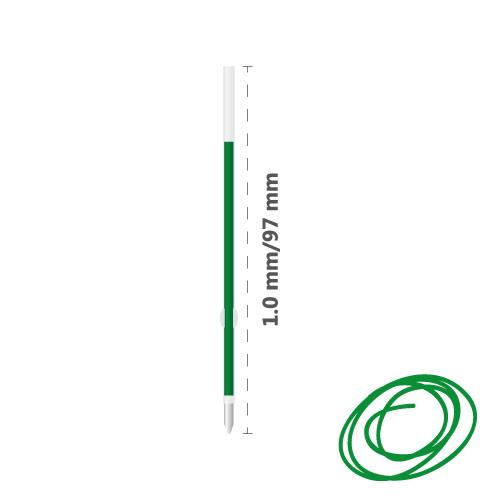 Náplň guľôčková MILAN Capsule 1,0 mm - zelená