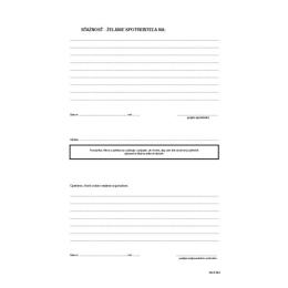 Kniha želaní a sťažností A4 (84)