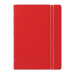 Poznámkový blok Filofax vreckový s organizérom, červený