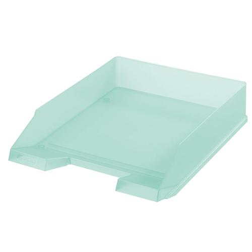 Zásuvka odkladacia - trasnsparentná mint